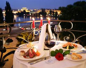 романтичный ужин