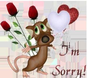 извинения парня