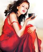 богиня с кофе