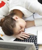 сплю на работе