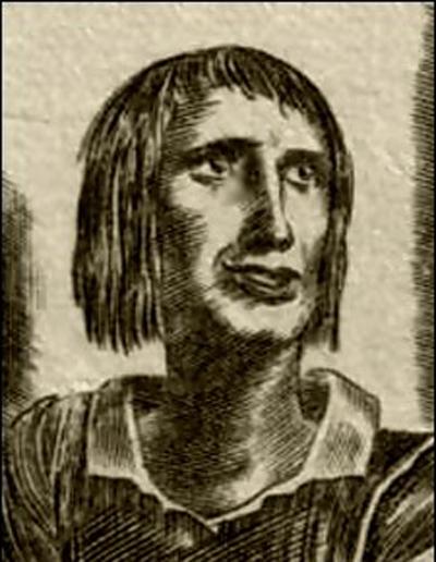 Франсуа Вийон. портрет