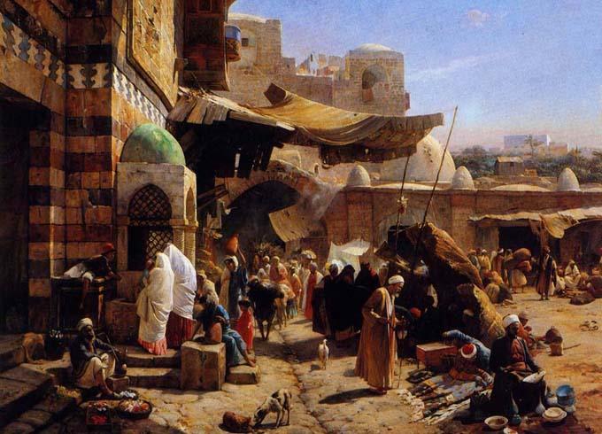 арабская живопись