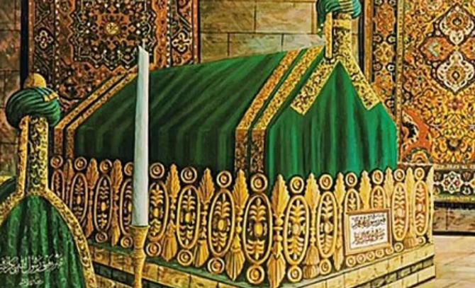 могила Пророка Мохаммеда