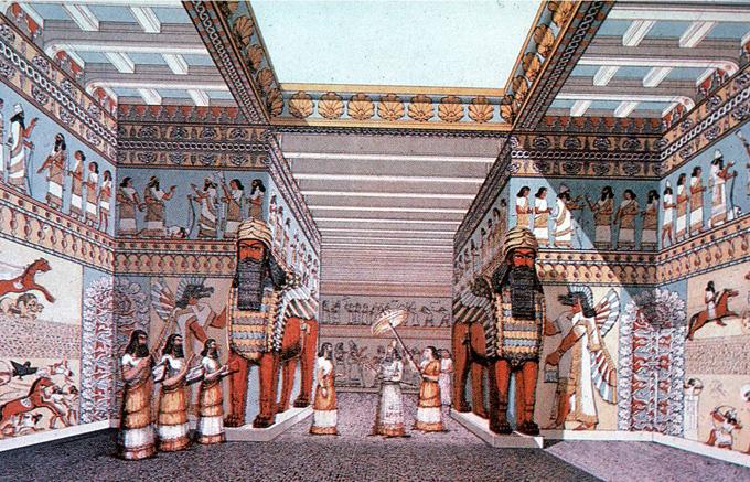 Ниневия, царский дворец