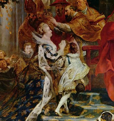 коронация Марии Медичи
