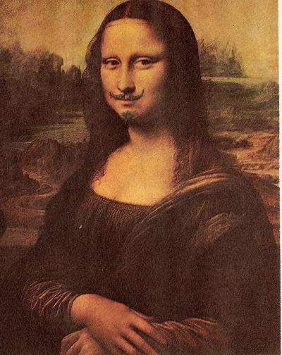 Марсель Дюшан. Мона Лиза с усами
