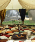 восточный шатер