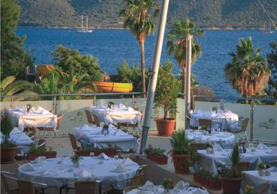 ресторан отеля Турция