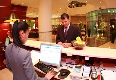 офис отеля