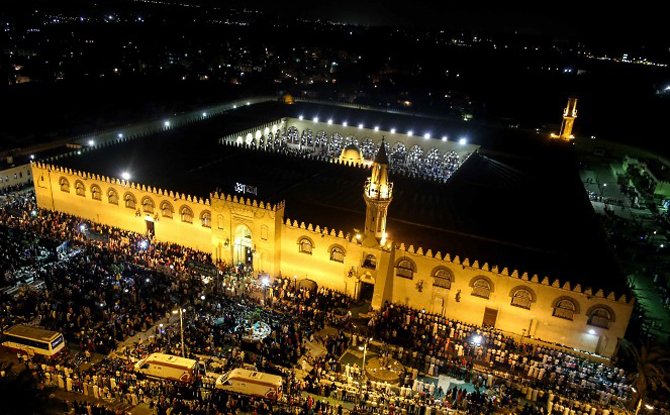 Мечеть Амра в Каире