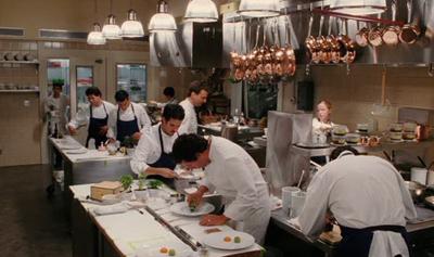 кухня отеля