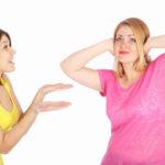 Ссора с соседкой
