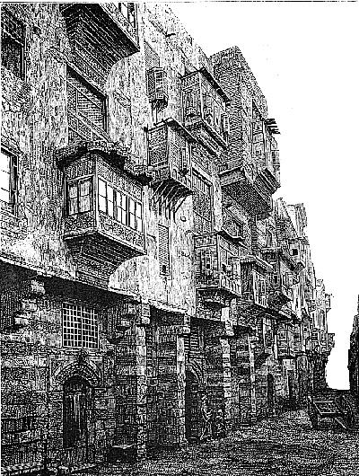 Древняя улица Каира