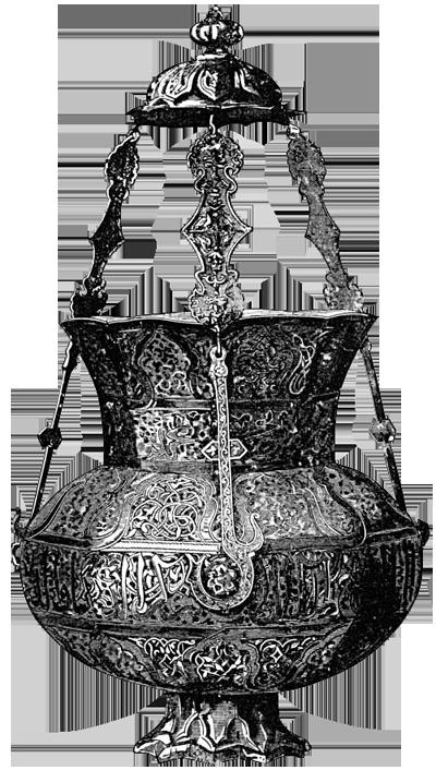 лампа в мечети
